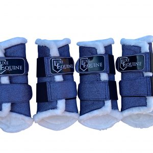 Lavender Purple Horse Exercise Boots for exercising your horse and protecting their legs