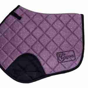 Purple CC Saddlepad