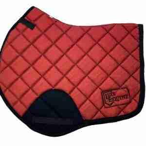 Red CC Jump Saddlepad