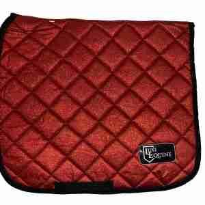 Ruby Red Dressage Saddlepad