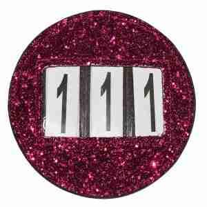 Pink Bridle Discs