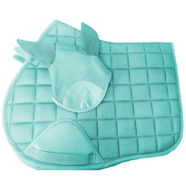 Mint Green Saddlepad and Ears