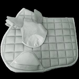 Silver Saddlepad and Ears